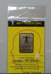 24K gold anti radiation sticker